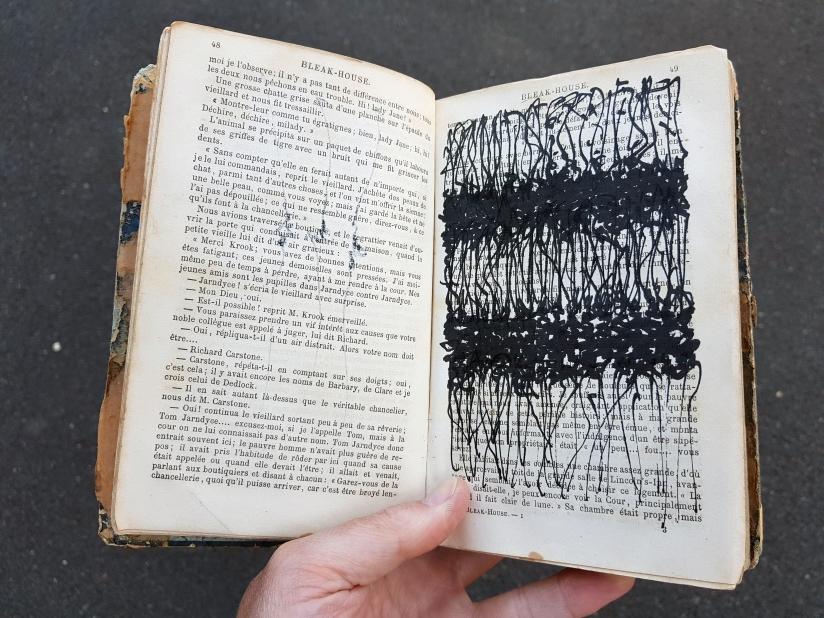 bleak house, encre sur papier, 200 pages dessinées, 2018, image 8