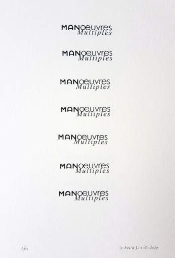 Colonne Manoeuvres multiples, 7 tampons, 4 exemplaires, 29,7x30cm, 2018