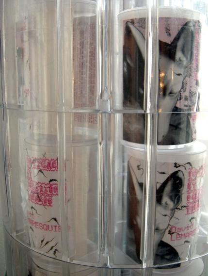 Distributeur de fétiches, détail, 2008