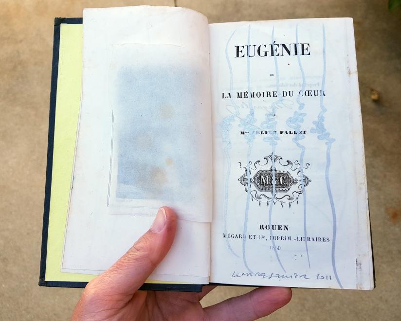 Eugénie, encre sur papier, 120 pages dessinées, 2011, image 4