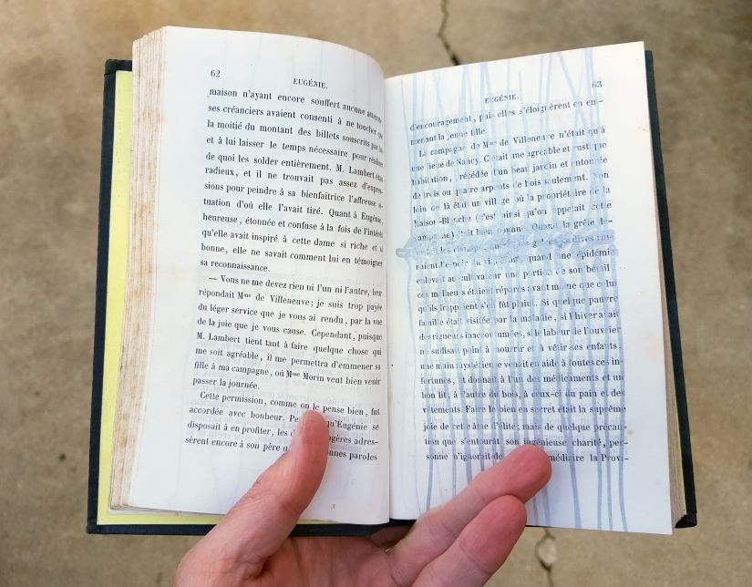 Eugénie, encre sur papier, 120 pages dessinées, 2011, image 7