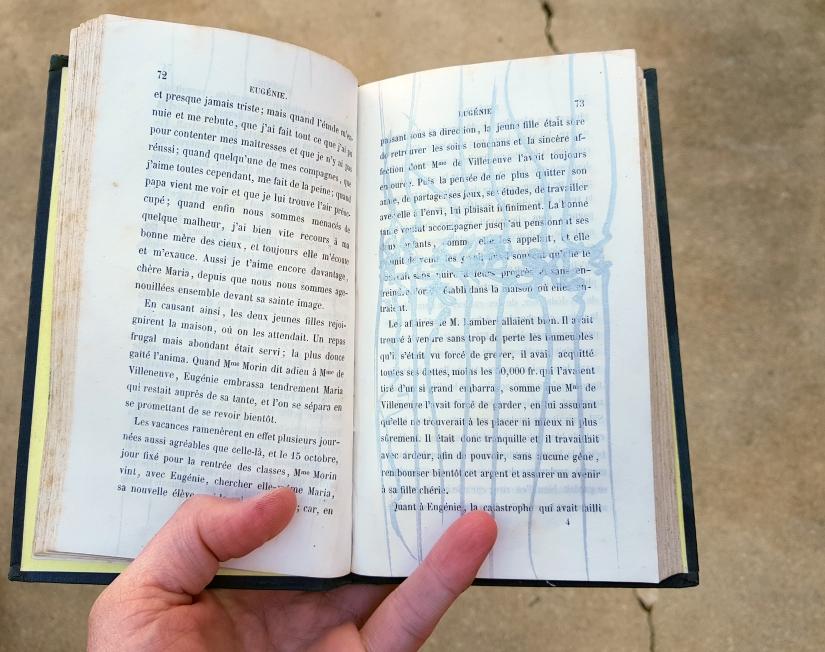 Eugénie, encre sur papier, 120 pages dessinées, 2011, image 8