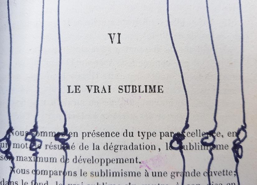le sublime, encre et pastel à l'huile sur papier, 205 pages dessinées, 2011, image 10