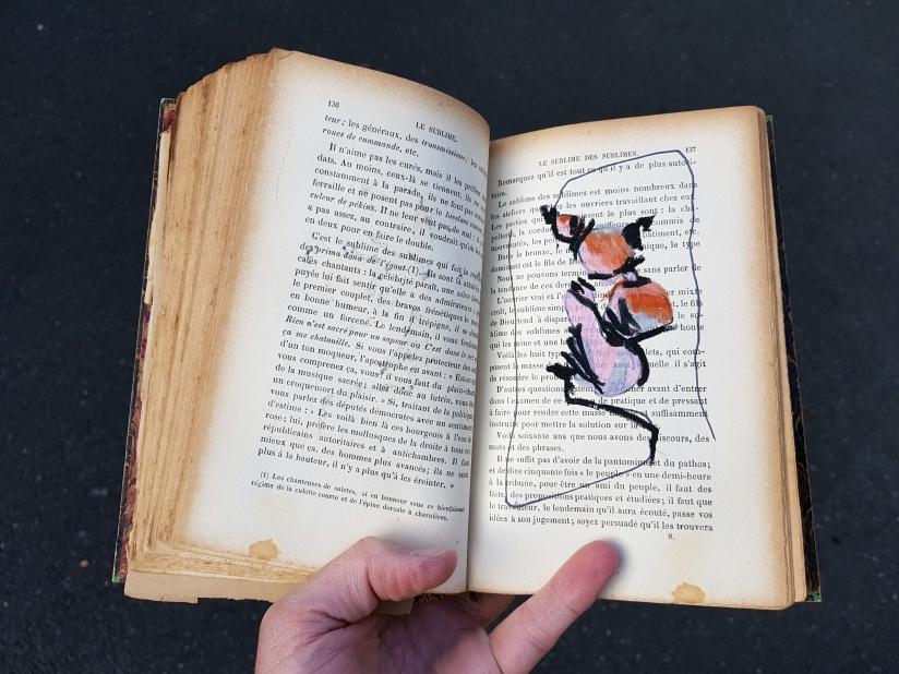 le sublime, encre et pastel à l'huile sur papier, 205 pages dessinées, 2011, image 12