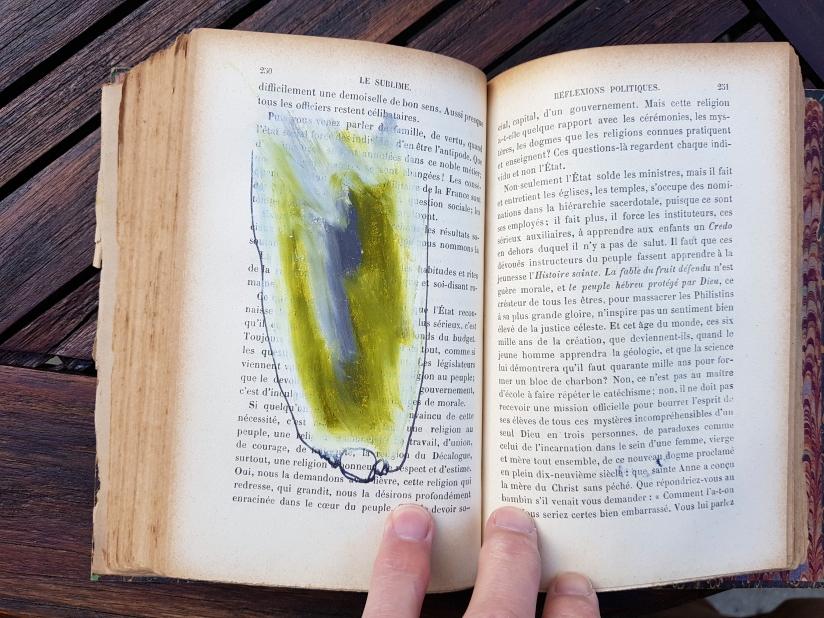 le sublime, encre et pastel à l'huile sur papier, 205 pages dessinées, 2011, image 15