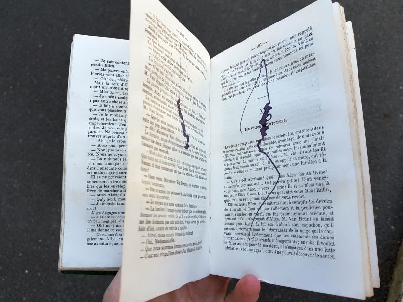 Le vaste monde, encre sur papier, 274 pages dessinées, 2011, image 5
