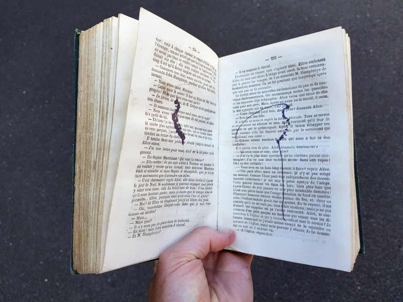 Le vaste monde, encre sur papier, 274 pages dessinées, 2011, image 8