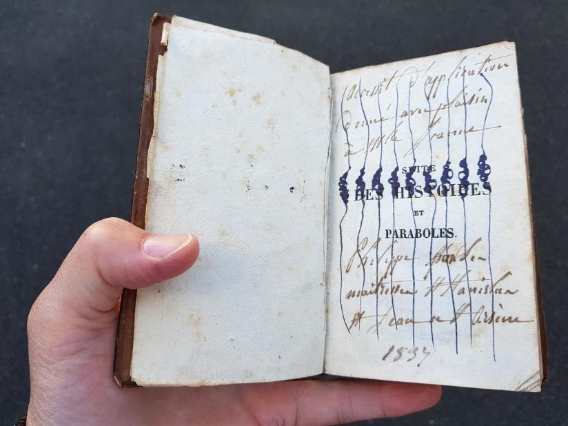 suite des histoires et paraboles, encre sur papier, 135 pages dessinées, 2011, image 5